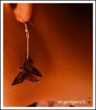 Pendientes de mariposas azules_modelo